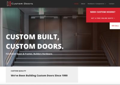 Custom Doors Corp