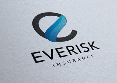 Everisk Insurance Logo Mock-up by Evolve Business Solutions